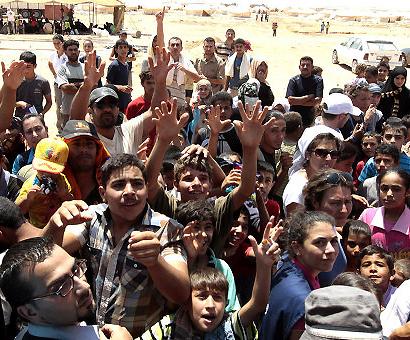 Акция в помощ на сирийските бежанци