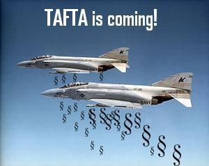 Споразумението ще установи Трансатлатническа свободна търговска зона между ЕС и САЩ /Transatlantic Free Trade Area - TAFTA/