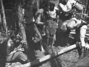 Бойци на УПА в началото на 50-те.