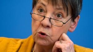 Барбара Хендрикс - министър на околната среда на Германия
