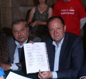 Списъкът на Михаил Миков включва цели 13 коалиционни абревиатури