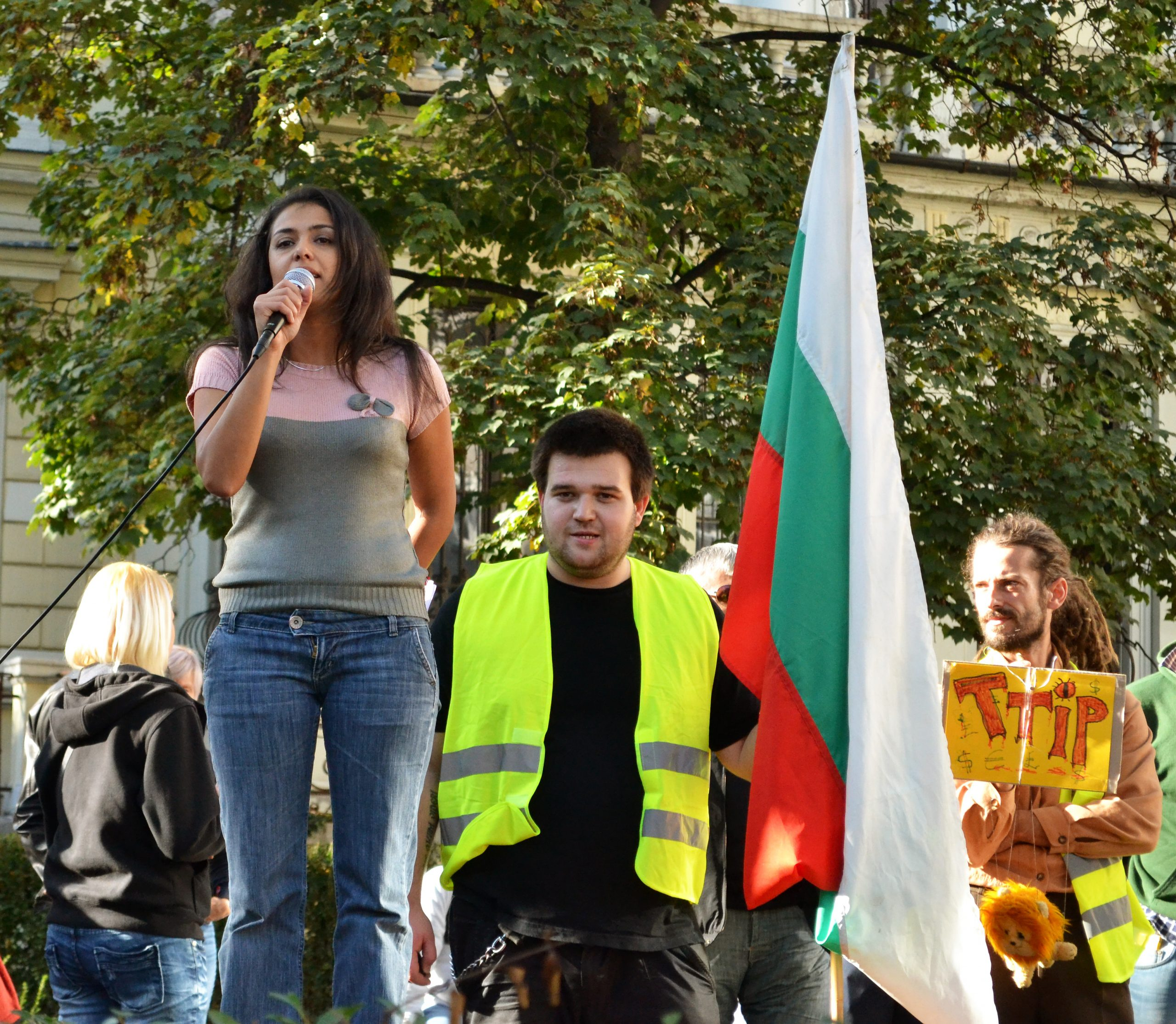 Bulgarians rise up against the Transatlantic Trade and Investment Partnership (TTIP) and shale gas