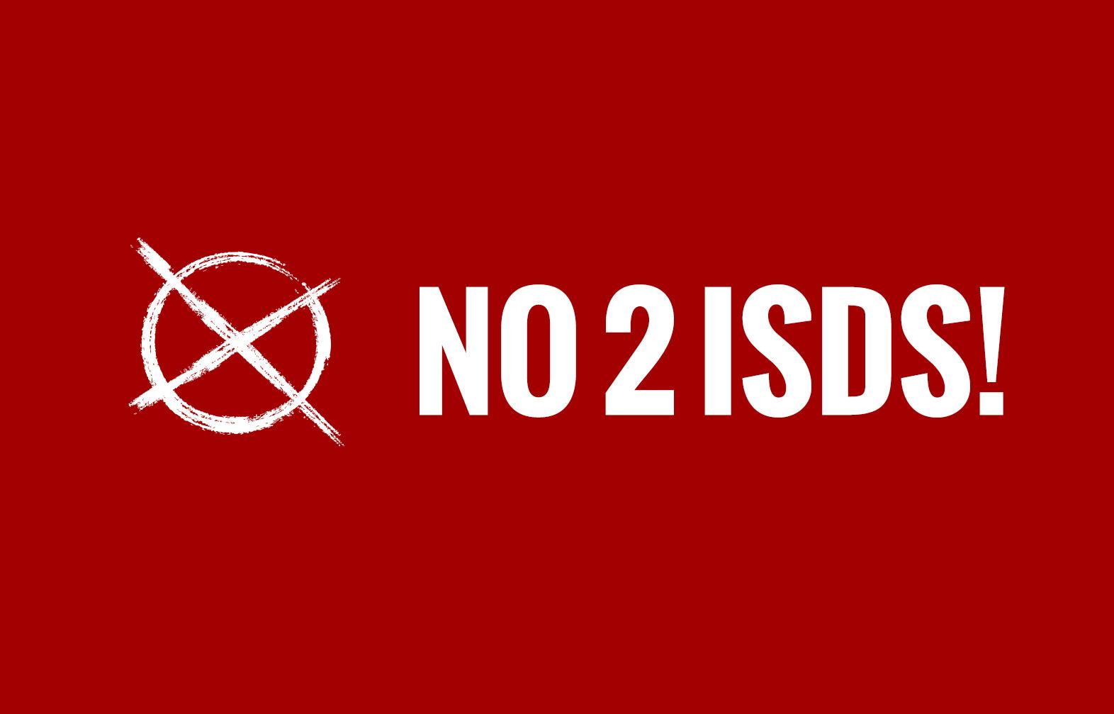 Кажи: НЕ на ISDS!