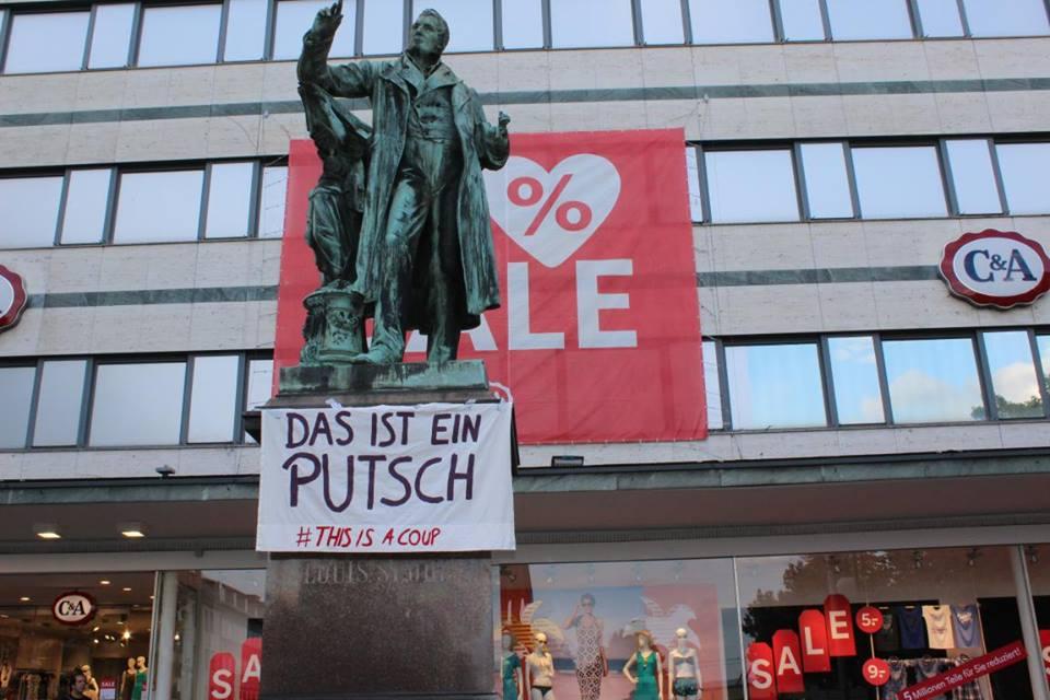 Касел, Германия - Това е пуч!