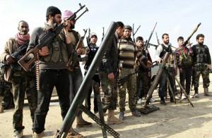 """Бойци от """"Армията на исляма""""."""
