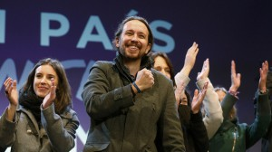 """""""Подемос"""" празнуваха след края на изборния ден така, сякаш те са пълноправните победители"""