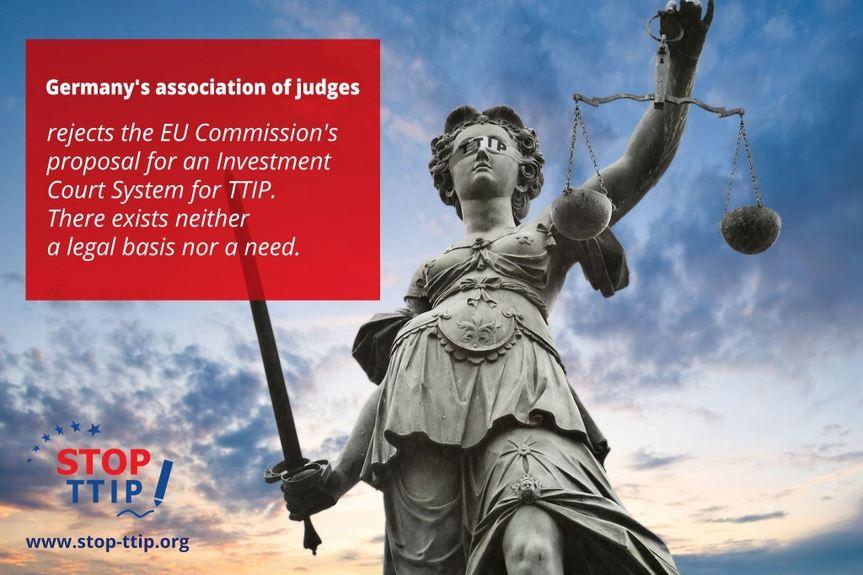 """Германска асоциация на 16 000 съдии и прокурори отхвърля """"подобрения арбитражен съд"""" на Малмстрьом"""