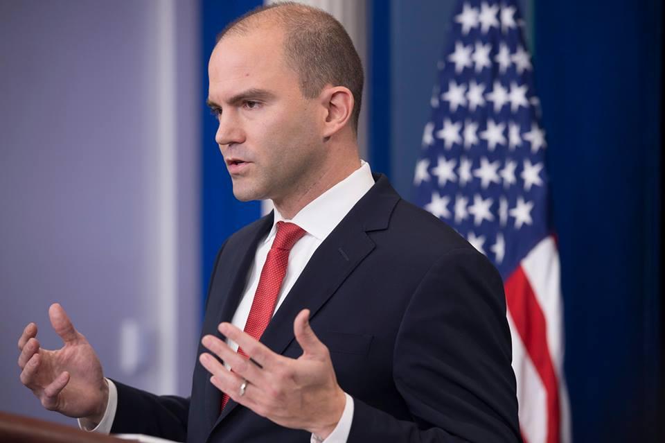 Бен Родс,, заместник-съветник на президента на САЩ по националната сигурност