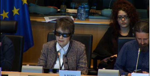 Костадинка Кунева (СИРИЗА) говори на сутрешното заседание