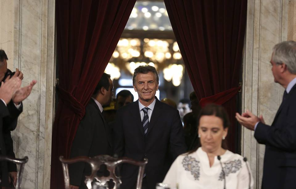 Новият президент на Арфентина, Маурисио Макри замени Кристина Киршнер