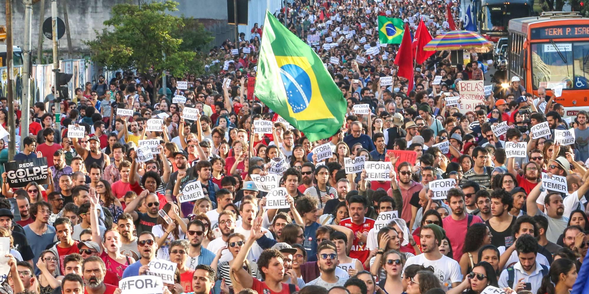 """""""Синдикатът на крадците"""" завзе Бразилия"""