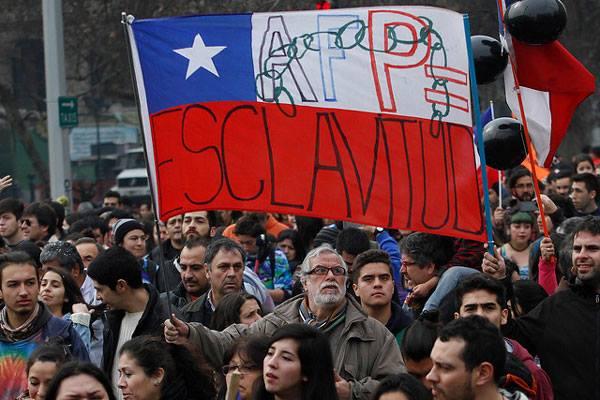 """Чили на бунт срещу витрината на """"чикагската школа"""" – пенсионната измама"""