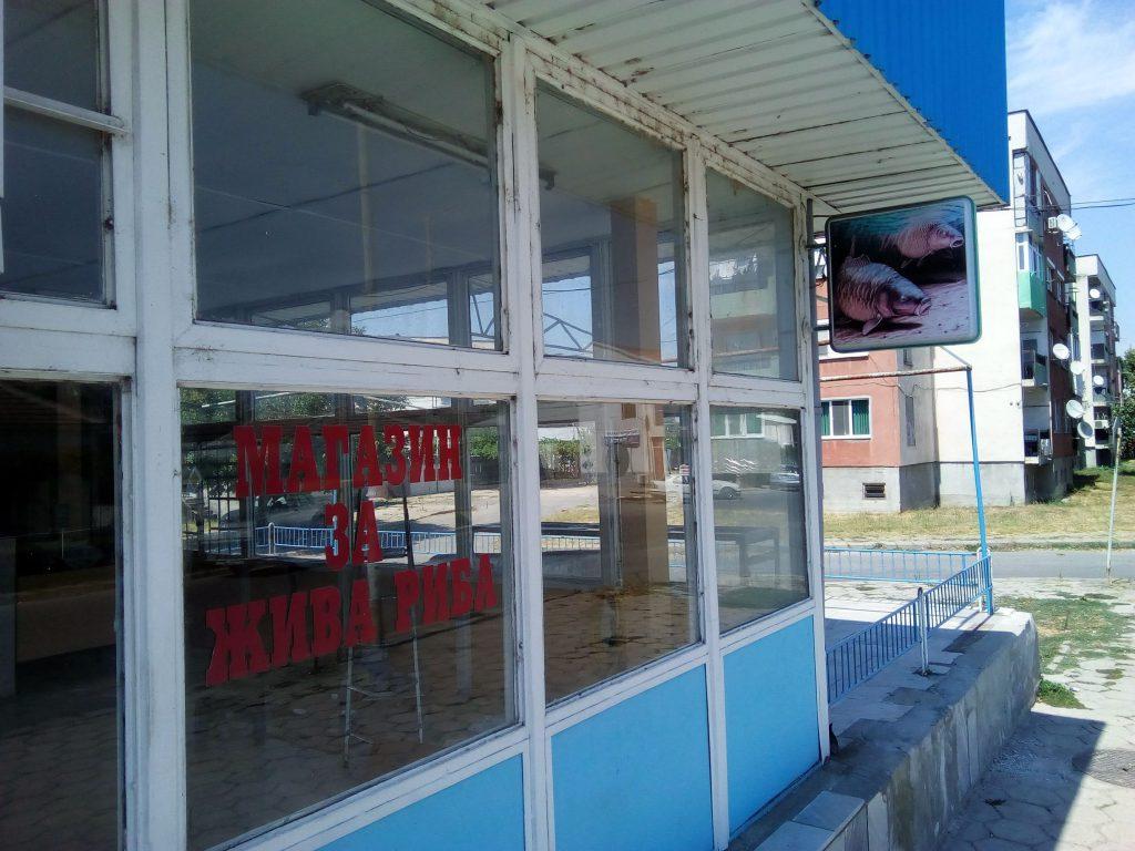 Магазинът за риба в Елхово, в който мобилна група на НАП разкрива големи заплахи за държавните интереси