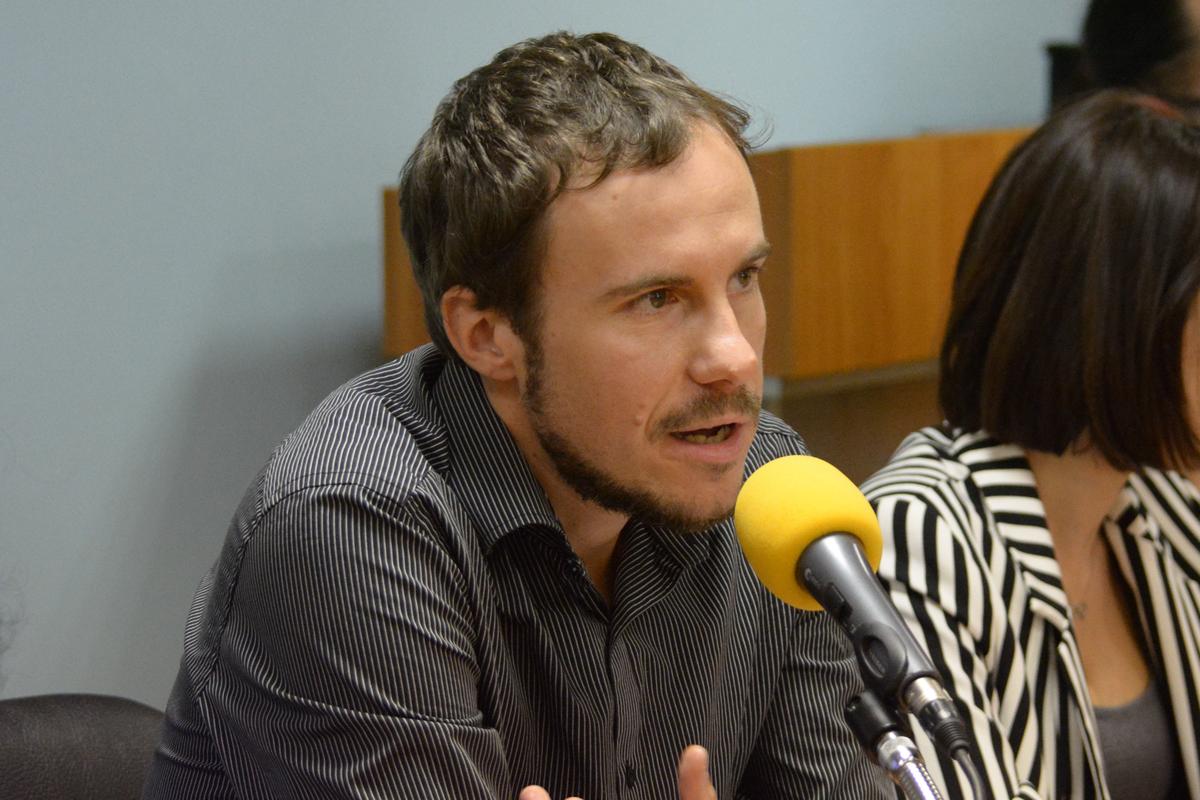 "Ивайло Атанасов, философ, математик, журналист от ""Барикада"", член на ""Солидарна България"""