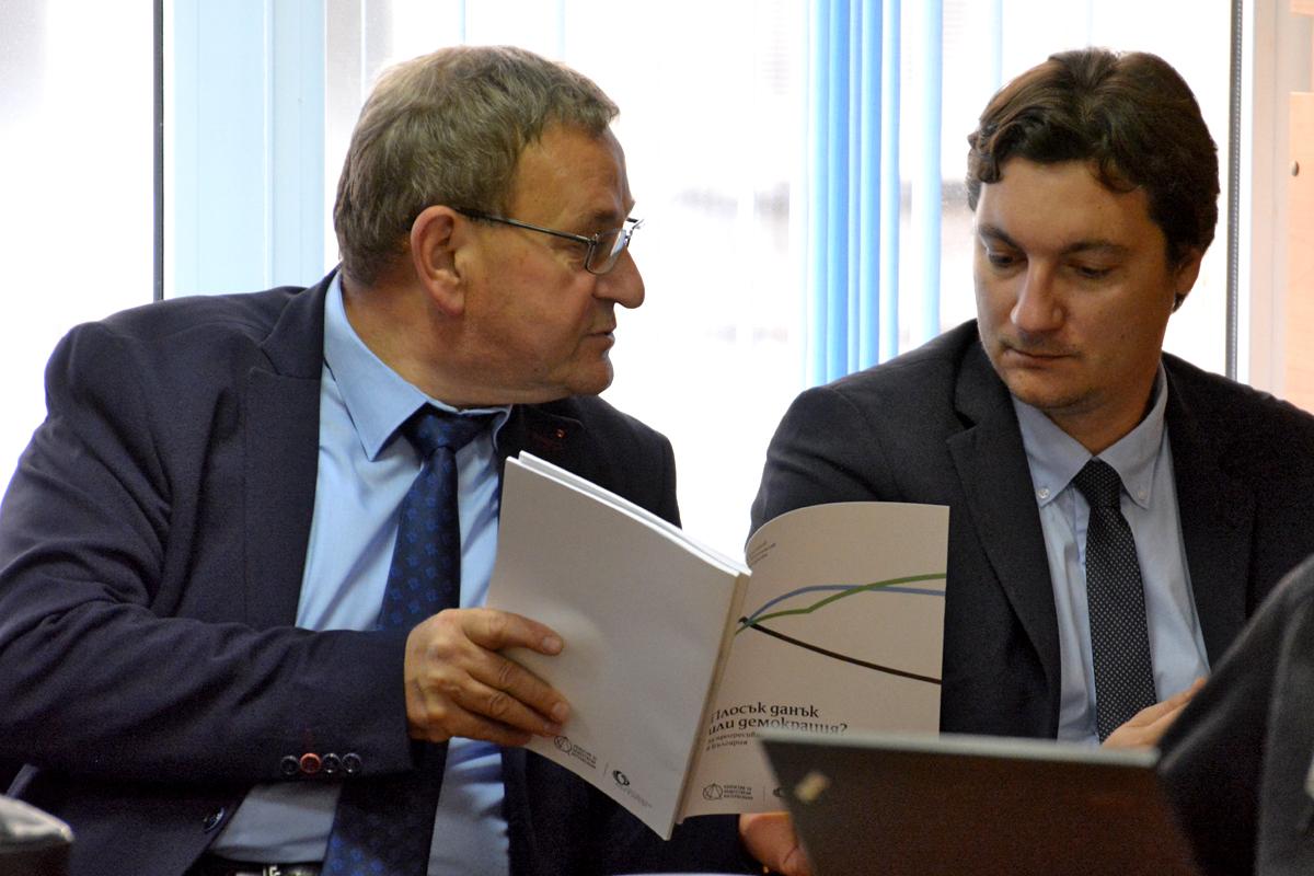 депутатите от БСП Милко Недялков и Крум Зарков