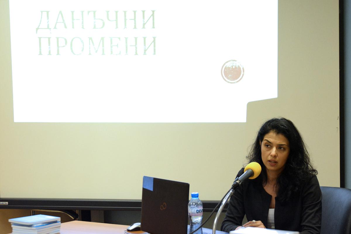 """Ваня Григорова, икономист, председател на """"Солидарна България"""" и икономически съветник на президента на КТ """"Подкрепа"""""""
